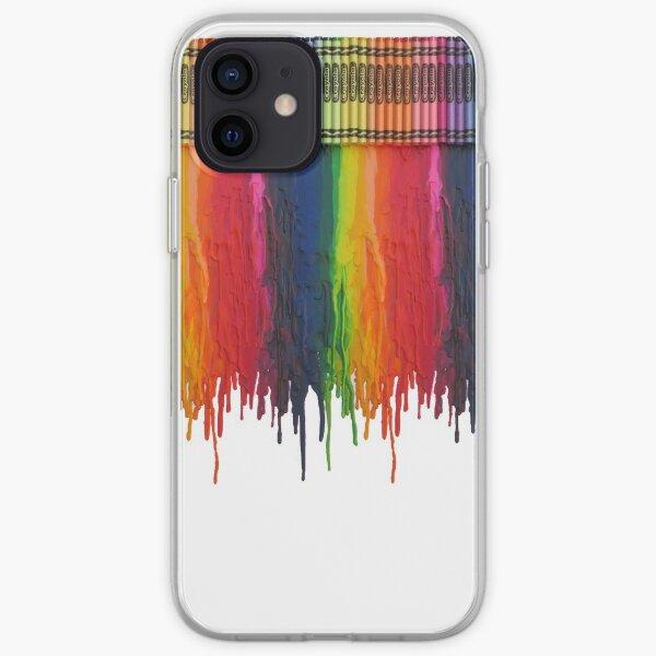 Melting Crayons iPhone Soft Case