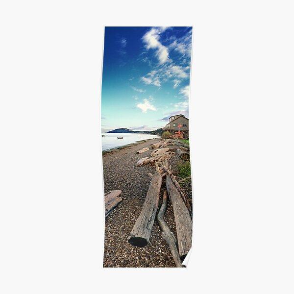 Resort Beach #2 (vertical panorama) Poster