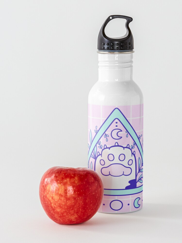 Alternate view of Witchy Cat Paw 03 Water Bottle