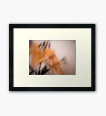 Whimsical Lilies Series.  No 1 Framed Print