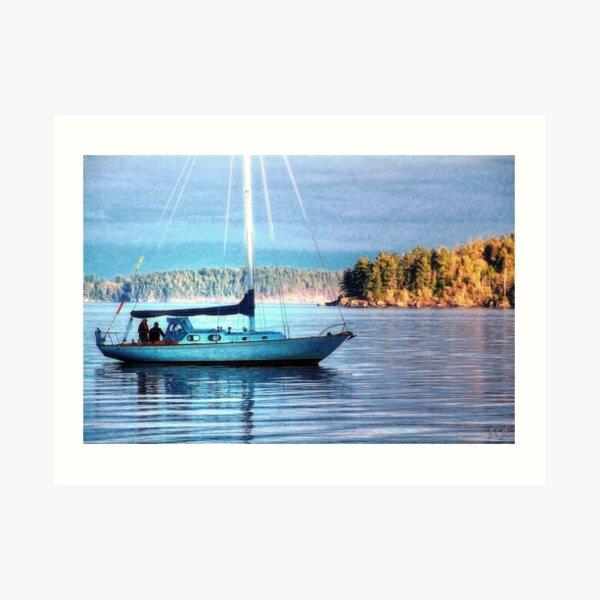 Sun Lit Mast #1 (photo) Art Print