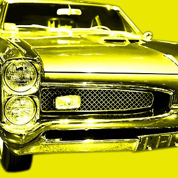Pontiac GTO Yellow by wingtong168