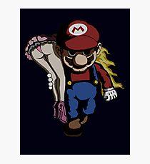 Mario Kidnap Photographic Print