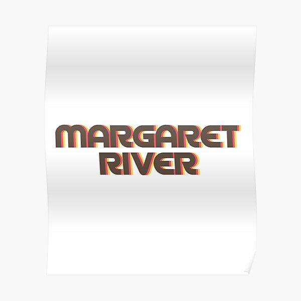 Margaret River Retro Poster