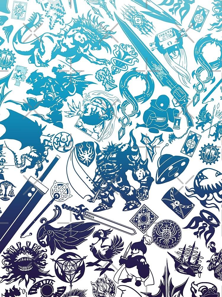 Moogle-verse (blue) von seviesphere