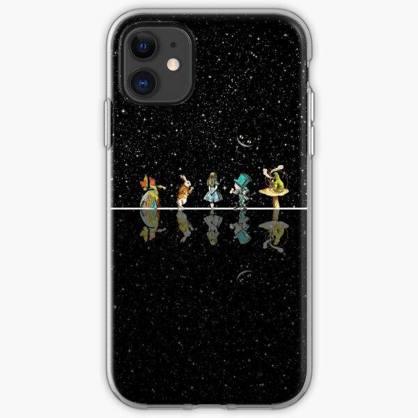 Noche estrellada del país de las maravillas - Alicia en el país de las maravillas Funda blanda para iPhone