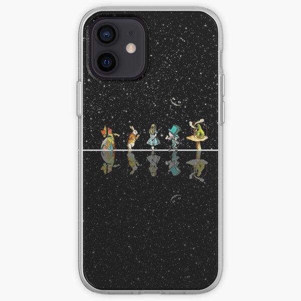 Wonderland Starry Night - Alice In Wonderland iPhone Soft Case