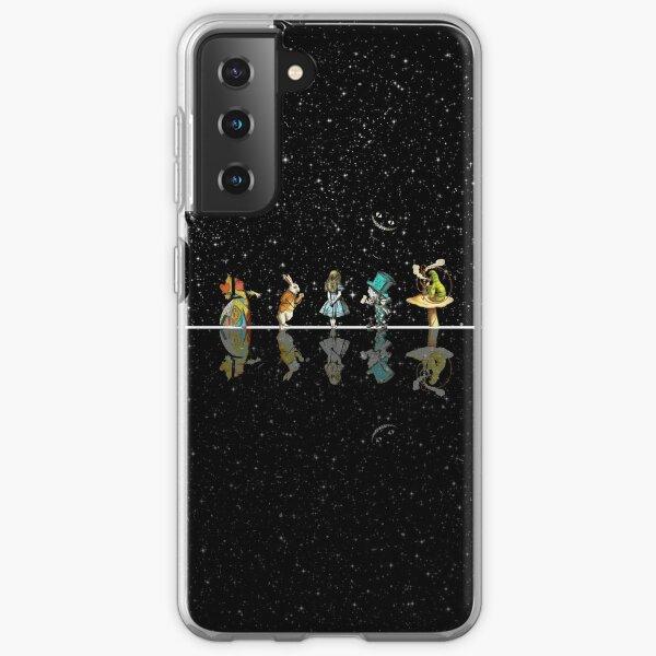Wonderland Starry Night - Alice In Wonderland Samsung Galaxy Soft Case