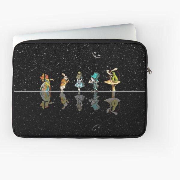 Wonderland Starry Night - Alice In Wonderland Laptop Sleeve