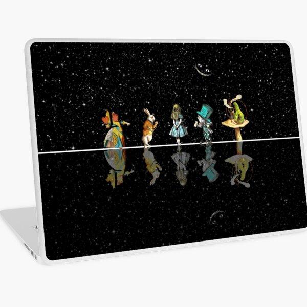 Wonderland Starry Night - Alice In Wonderland Laptop Skin