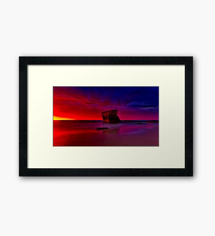 """Transition"" Framed Print"
