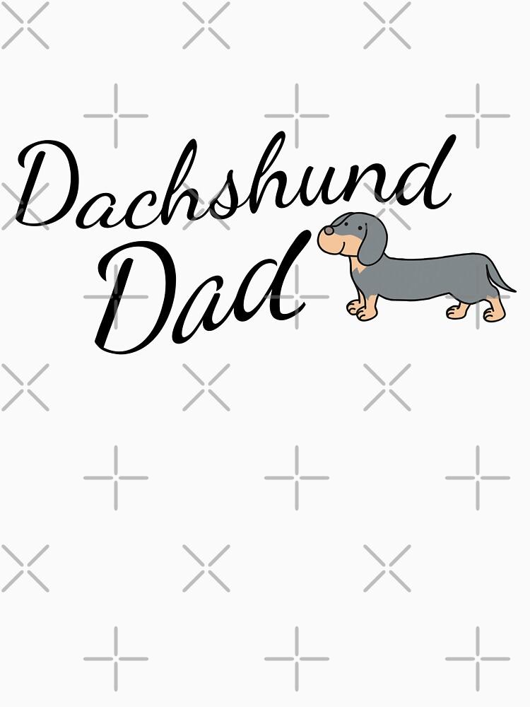 Dachshund Dad by tribbledesign