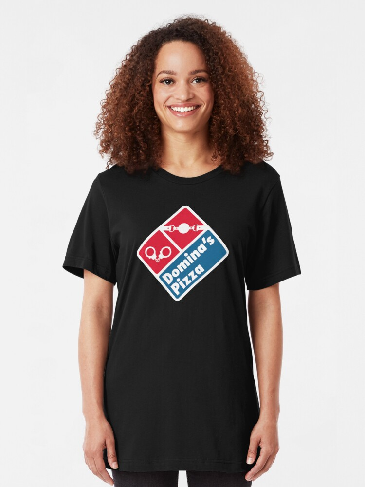Alternate view of Domina's Pizza Slim Fit T-Shirt