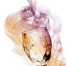 A Glass of Smoke by Barb Leopold