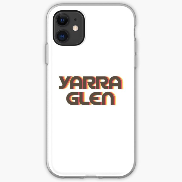Yarra Glen Retro iPhone Soft Case