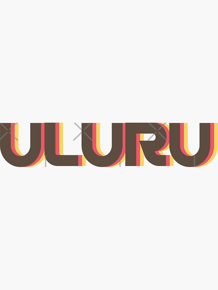 Uluru Retro by designkitsch