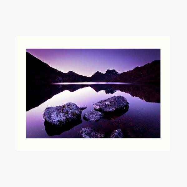 Dove Lake, Cradle Mountain, Tasmania Art Print
