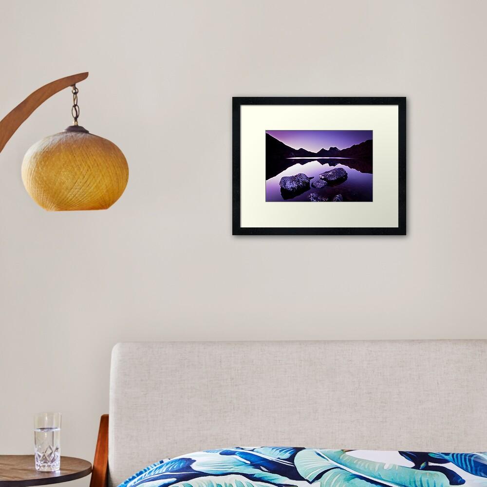 Dove Lake, Cradle Mountain, Tasmania Framed Art Print