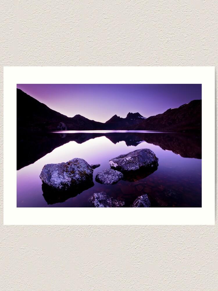 Alternate view of Dove Lake, Cradle Mountain, Tasmania Art Print