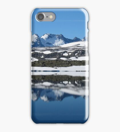 Sognefjell iPhone Case/Skin