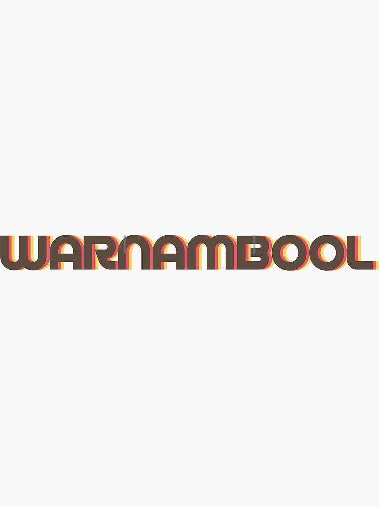 Warnambool Retro by designkitsch