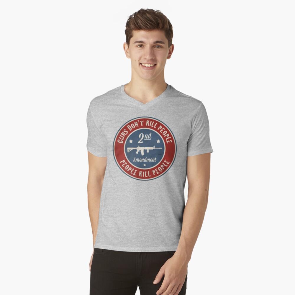 Second Amendment V-Neck T-Shirt