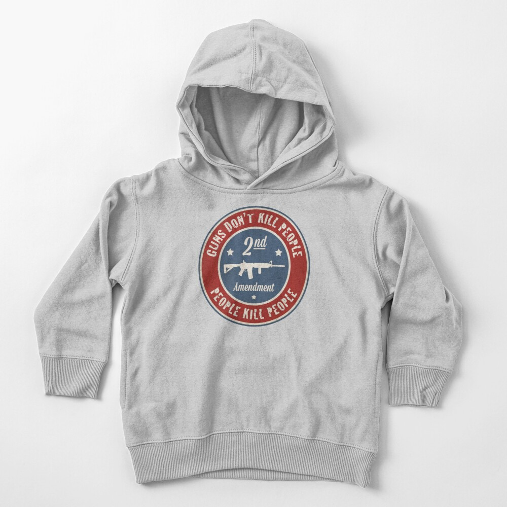 Second Amendment Toddler Pullover Hoodie