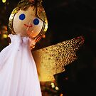Angel on the Christmas Tree by Cat Davis
