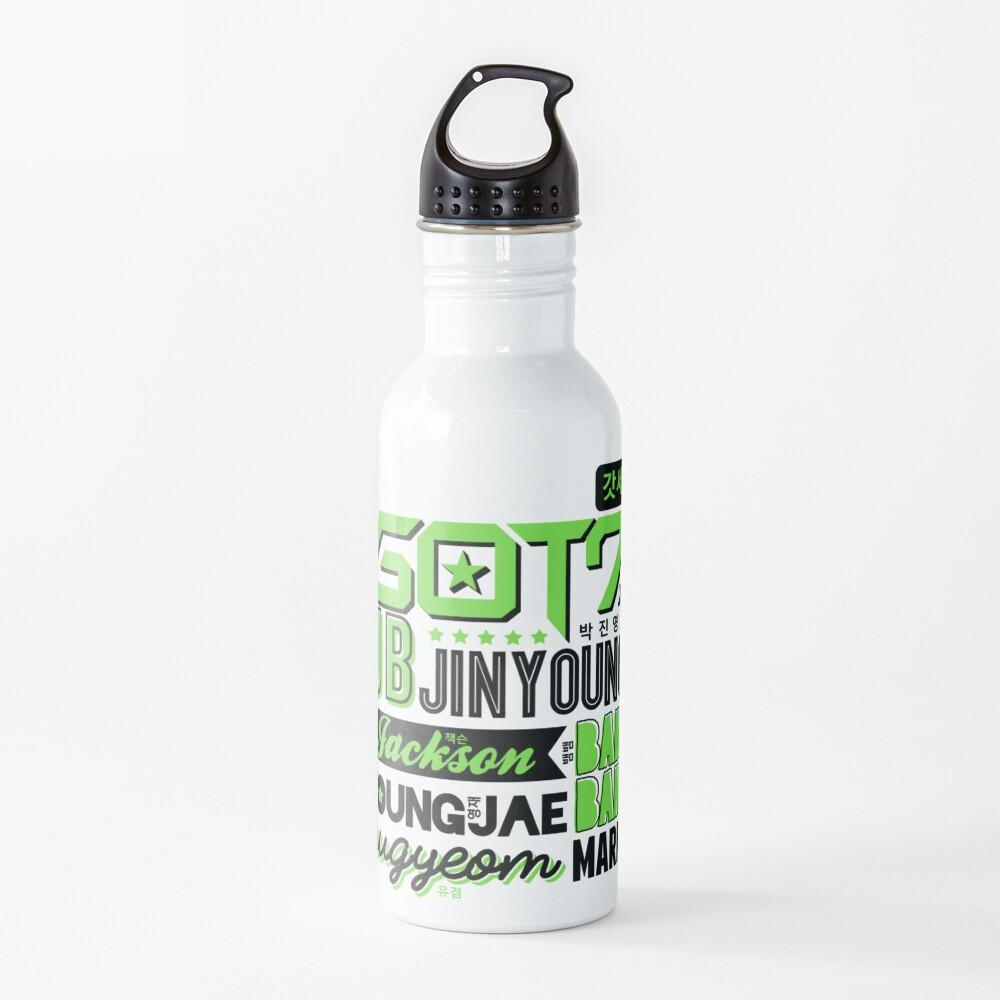 GOT7 Font Collage 2 Water Bottle