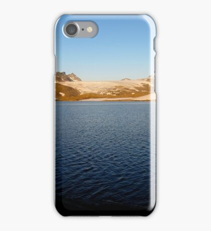 Sunset, Sognefjell, Norway iPhone Case/Skin