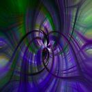 Purple and Green by Debra Fedchin
