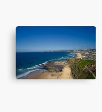Bar Beach View Canvas Print
