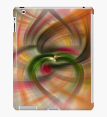 Peach and Green  iPad Case/Skin