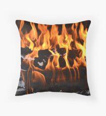 Fireplace Throw Pillow