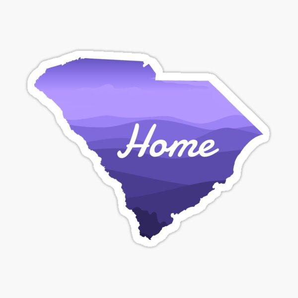 SC Home - South Carolina Home Design Sticker