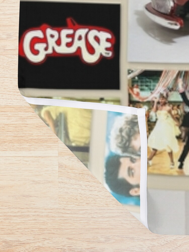 Alternate view of Grease Lightning Shower Curtain