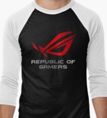 Asus Republic of Gamers Men's Baseball ¾ T-Shirt