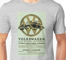 Volkswagen Advert - 1955! Unisex T-Shirt
