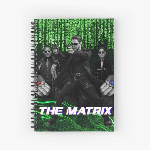 THE MATRIX Spiral Notebook