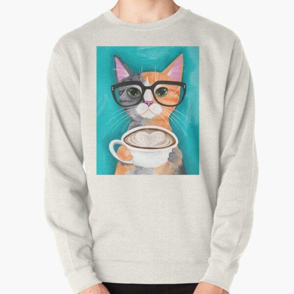 Kitten's Latte of Love Pullover Sweatshirt