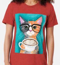Kitten's Latte of Love Tri-blend T-Shirt
