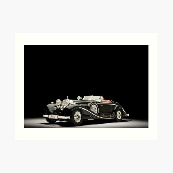 Mercedes Benz 500K Art Print