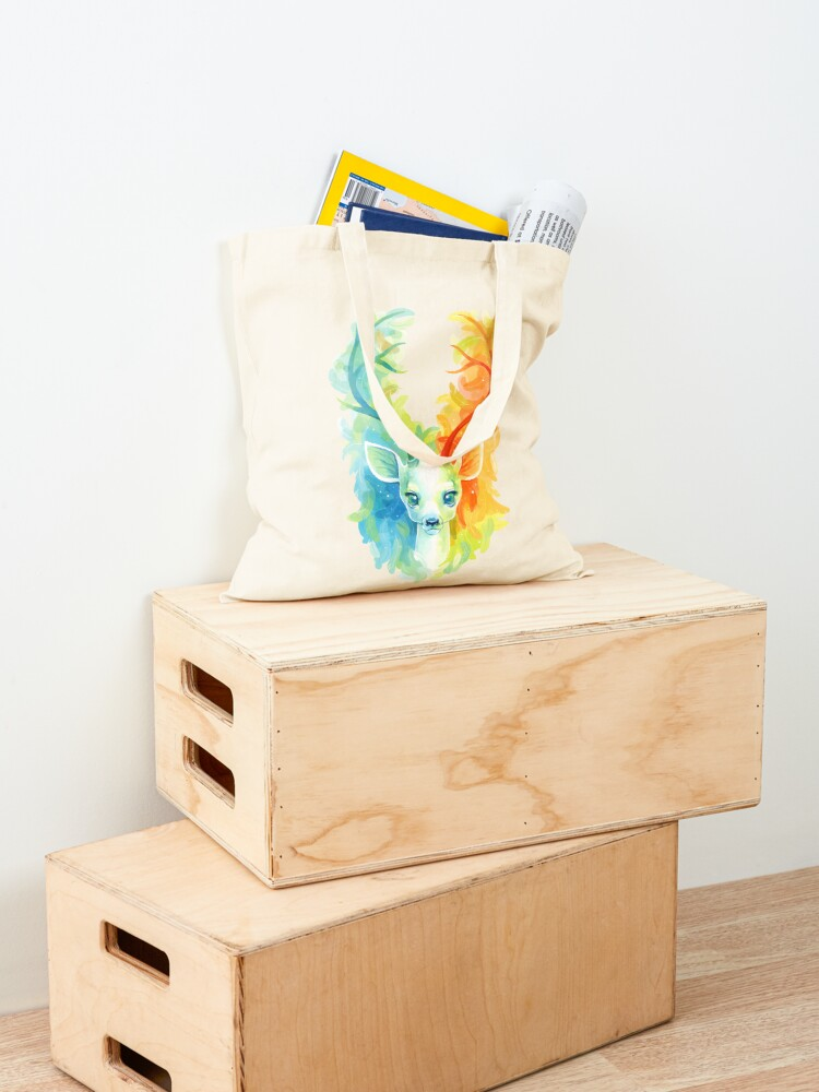 Alternate view of Feather Fawn Tote Bag