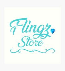 Flngz Store Art Print