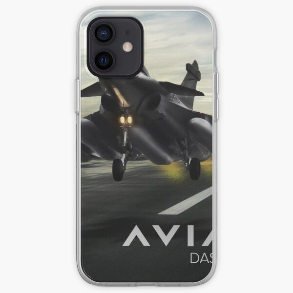 Dassault Rafale Fighter Jet Coque souple iPhone