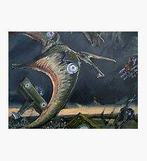 Billy Barker and Pterosaur Squadron Photographic Print