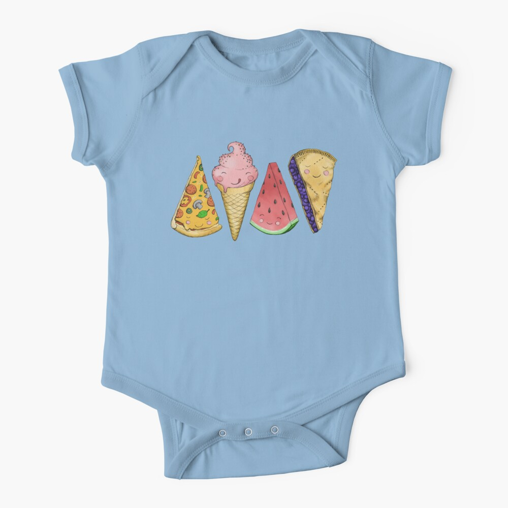 Happy Picnic Triangles Baby One-Piece