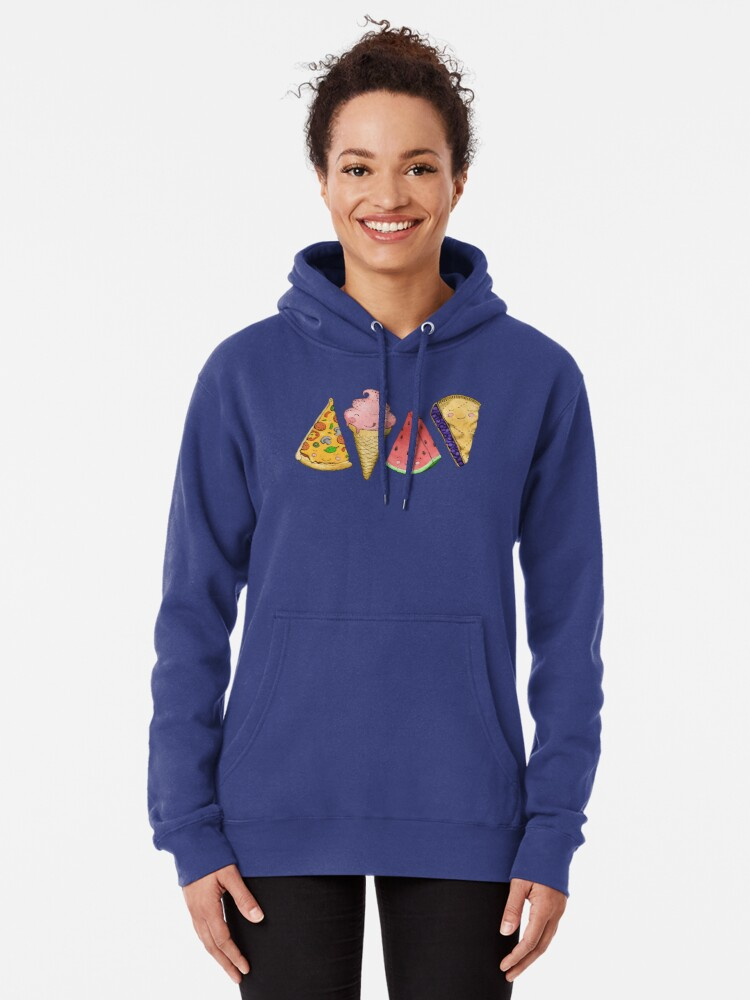 Alternate view of Happy Picnic Triangles Pullover Hoodie