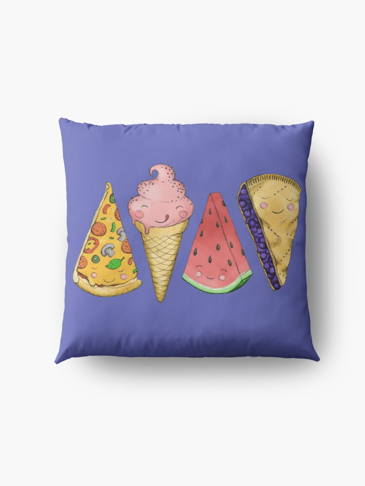 Alternate view of Happy Picnic Triangles Floor Pillow