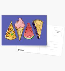 Happy Picnic Triangles Postcards
